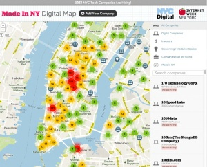 Jobs Map New York