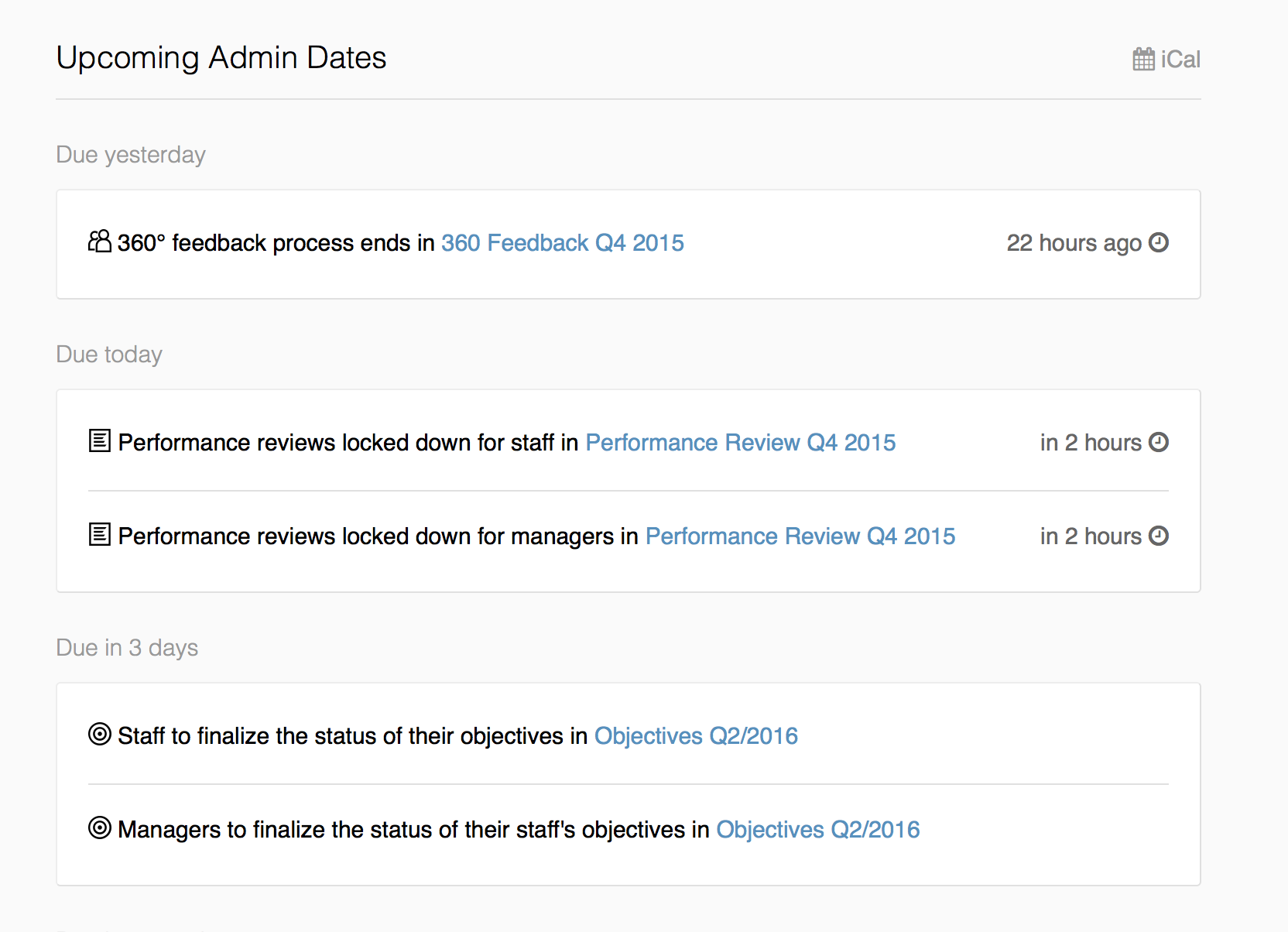 8441913b3 Better insight into upcoming admin dates · Small Improvements